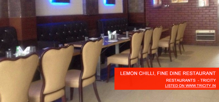 Lemon Chilli, Fine Dine Restaurant