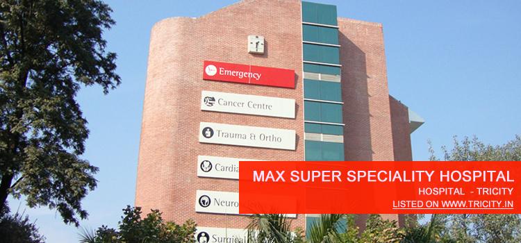 Max Super Speciality Hospital Mohali