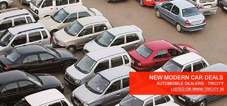 NEW MODERN CAR DEALS