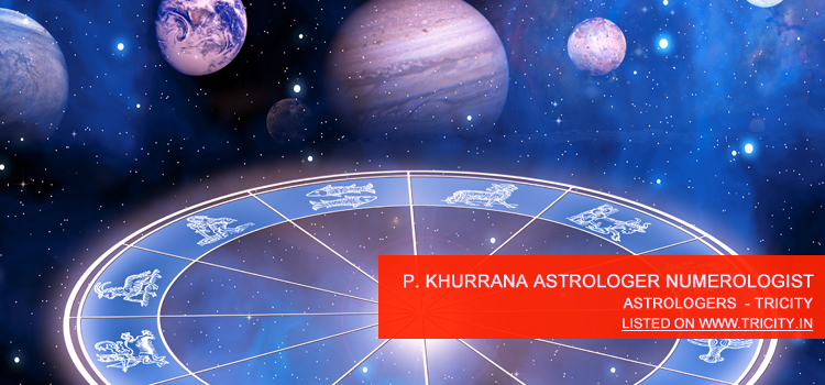 P. Khurrana Astrologer Numerologist India