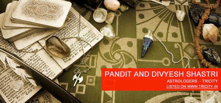 Pandit And Divyesh Shastri Chandigarh
