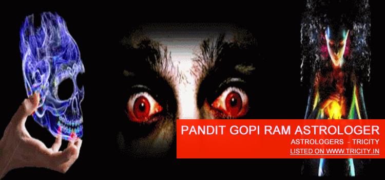 Pandit Gopi Ram Astrologers Chandigarh