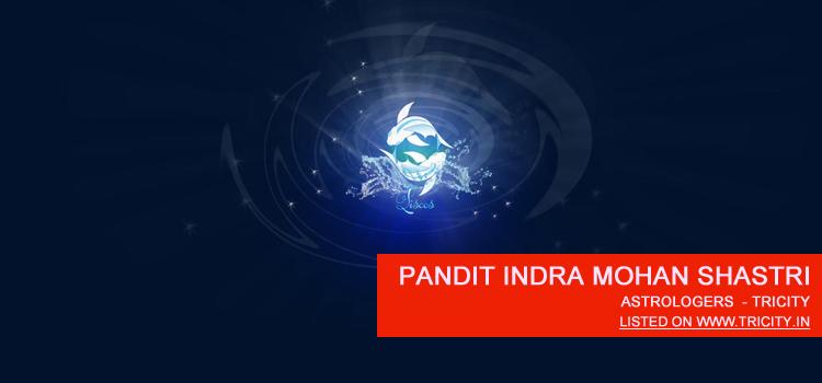 Pandit Indra Mohan Shastri Zirakpur