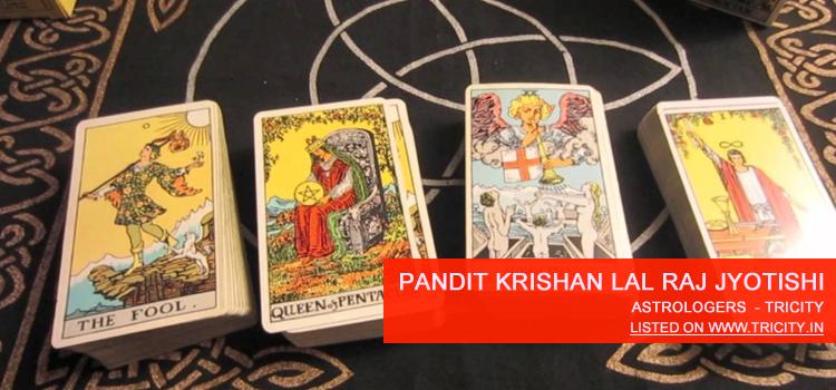 Pandit Krishan Lal Raj Jyotishi Chandigarh