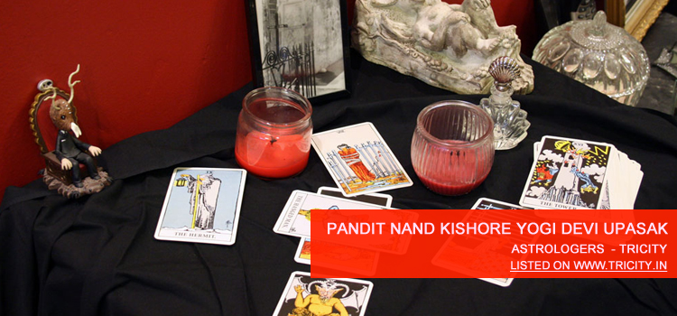 Pandit Nand Kishore Yogi Devi Upasak Chandigarh