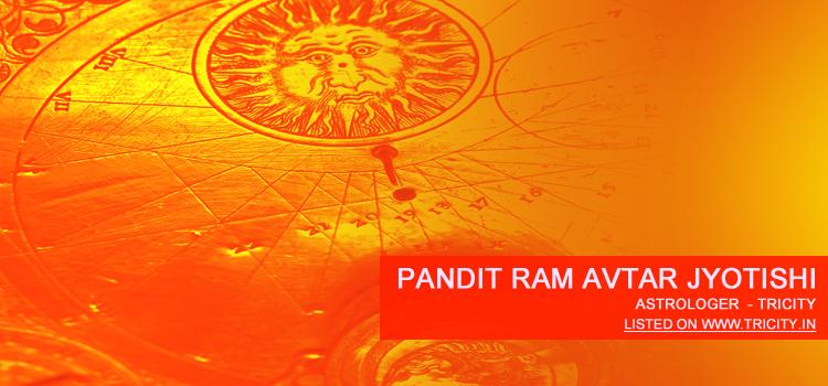 Pandit Ram Avtar Jyotishi
