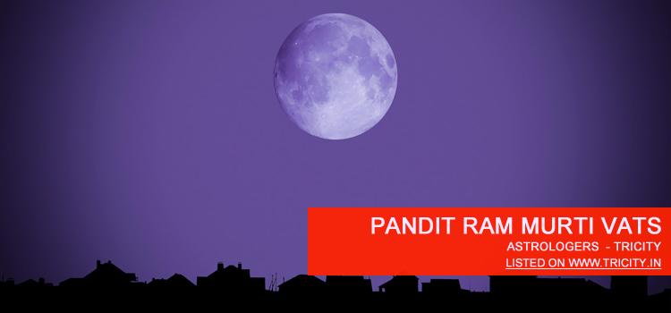 Pandit Ram Murti Vats Chandigarh