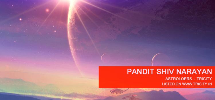 Pandit Shiv Narayan Chandigarh