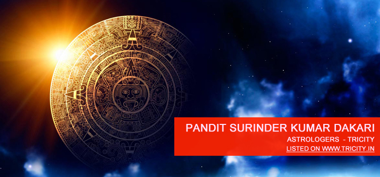 Pandit Surinder Kumar Dakari Mohali