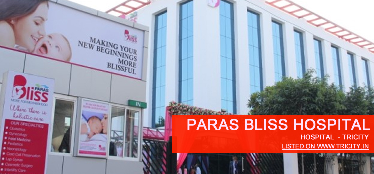Paras Bliss Hospital panchkula