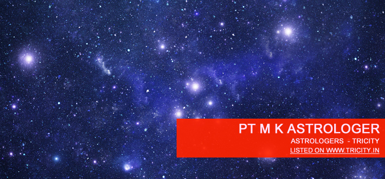 Pt M K Astrologer Chandigarh