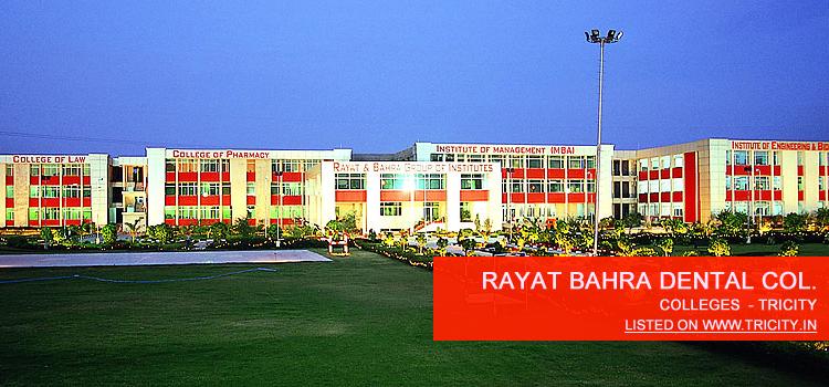 Rayat Bahra Dental College