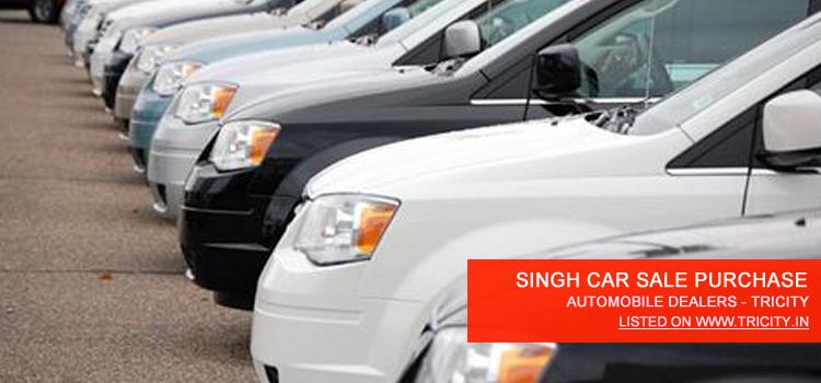 SINGH CAR SALE PURCHASE