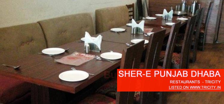 Sher-E Punjab Dhaba