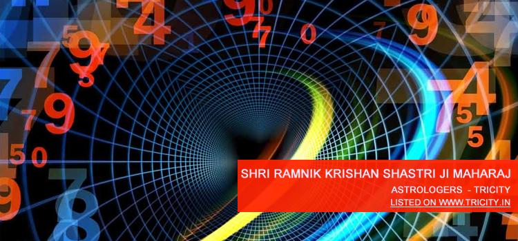 Shri Ramnik Krishan Shastri Ji Maharaj Chandigarh