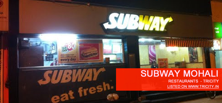 subway mohali