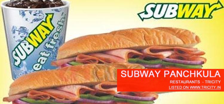 Subway Panchkula