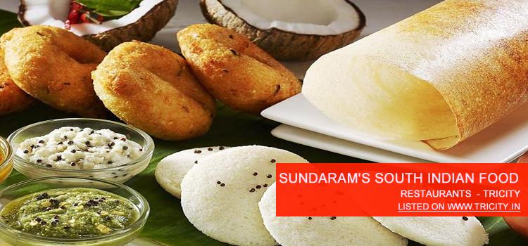 Sundaram's South Indian Food Chandigarh