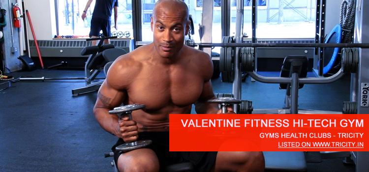 Valentine Fitness Hi-Tech Gym chandigarh