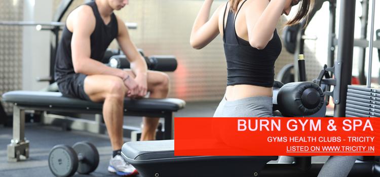 Burn Gym & Spa panchkula