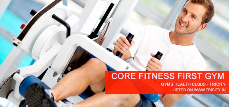 Core Fitness First Gym panchkula