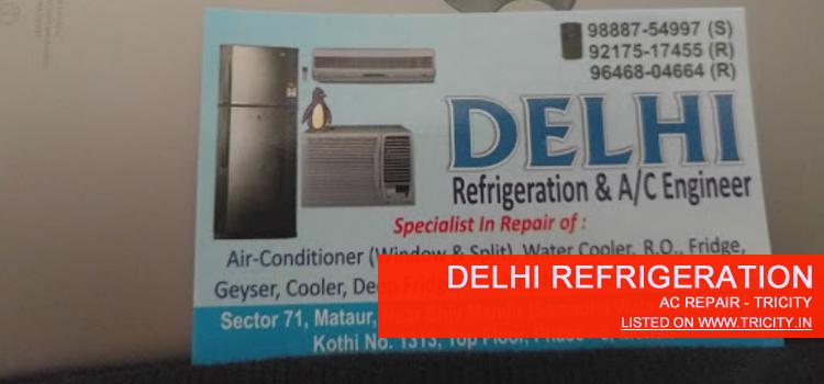 Delhi Refrigeration Mohali