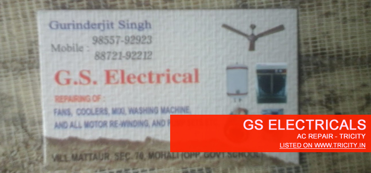 GS Electricals Mohali