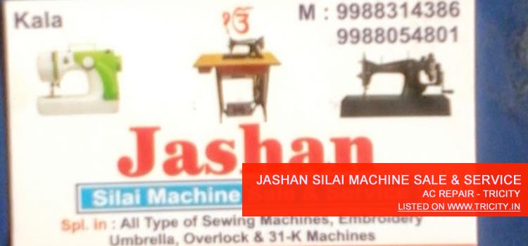 Jashan Silai Machine Sale & Service