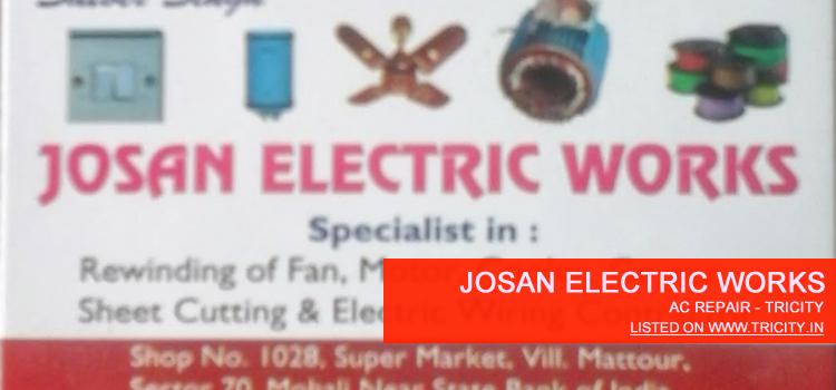 Josan Electric Works Mohali