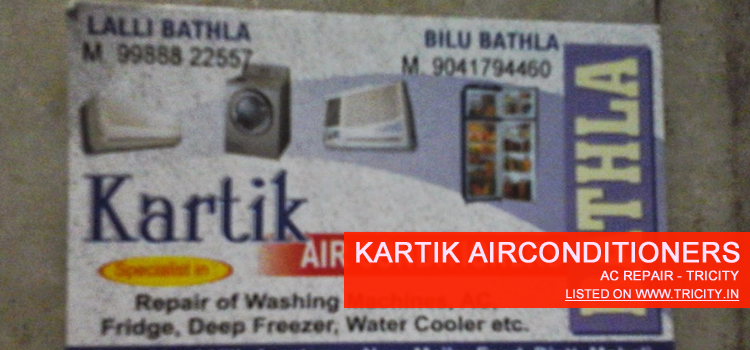 Kartik Airconditioners Mohali