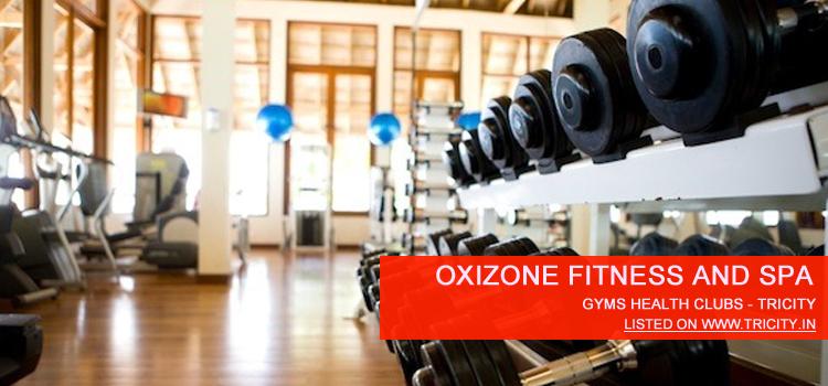 Oxizone fitness & spa zirakpur