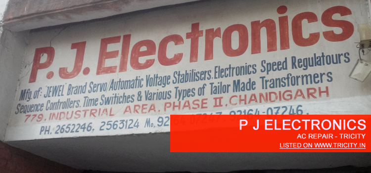 P J Electronics Mohali