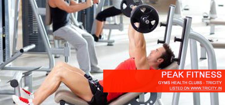 Peak Fitness panchkula