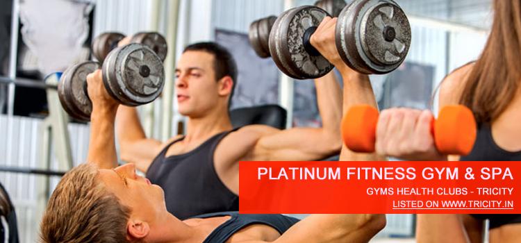 platinum fitness gym & spa panchkula