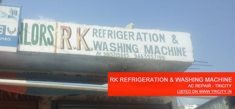 RK Refrigeration and Washing Machine