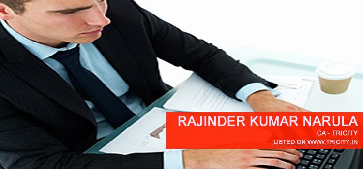 Rajinder Kumar Narula Chandigarh