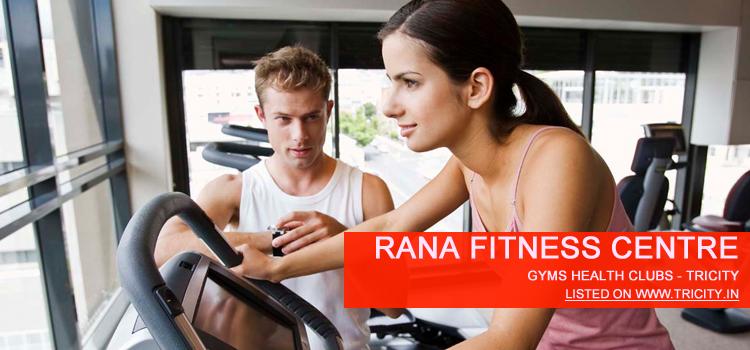 Rana Fitness Centre mohali
