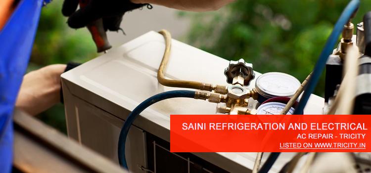 Saini Refrigeration and Electrical