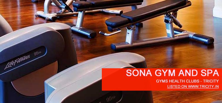 Sona Gym And Spa mohali