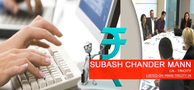 Subash Chander Mann Chandigarh