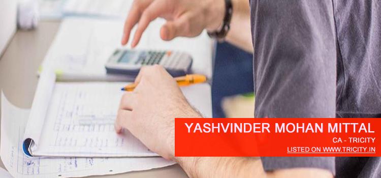 Yashvinder Mohan Mittal