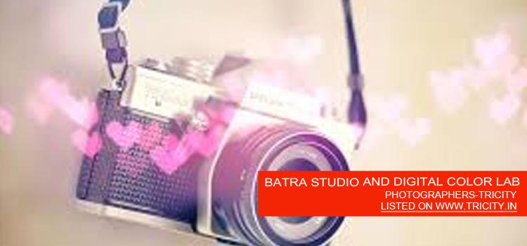 BATRA STUDIO AND DIGITAL COLOR LAB