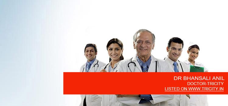 DR BHANSALI ANIL