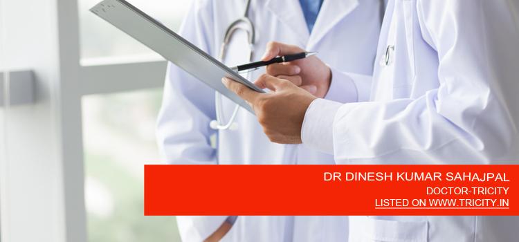 DR DINESH KUMAR SAHAJPAL