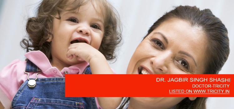 DR. JAGBIR SINGH SHASHI