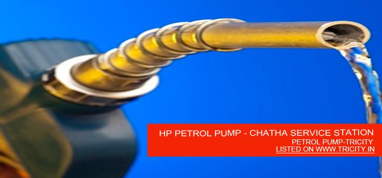 HP PETROL PUMP - CHATHA SERVICE STATION