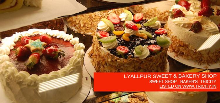 LYALLPUR SWEET & BAKERY SHOP