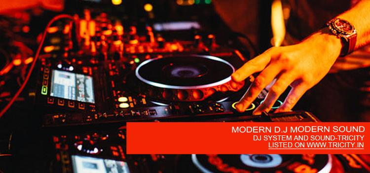 MODERN D.J MODERN SOUND