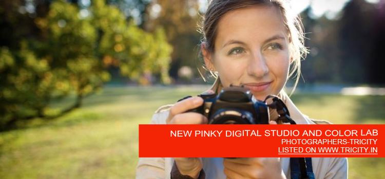 NEW PINKY DIGITAL STUDIO AND COLOR LAB