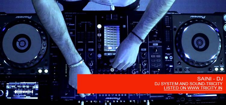 SAINI - DJ